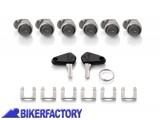 BikerFactory Kit chiavi serrature per borse bauletti TRAX%C2%AE EVO 1021234