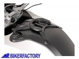 BikerFactory Kit adattatore aggancio borse serbatoio SW Motech Quick Lock EVO TANKRING per BMW G 650 GS Sertao TRT.00.640.20500 B 1014701
