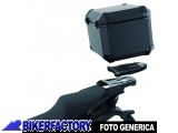 BikerFactory Kit completo Bauletto %28top case%29 in alluminio mod. TRAX EVO %28ALU RACK%29. 1003349