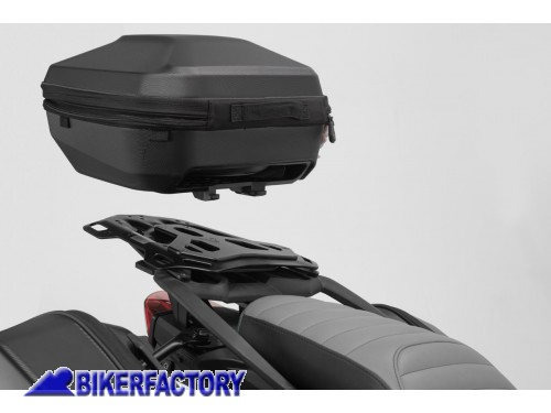 BikerFactory Kit portapacchi ADVENTURE RACK e bauletto URBAN ABS 16 29 lt SW Motech per BMW F 750 850 GS %28%2718 in poi%29con portapacchi di serie in plastica GPT.07.897.60100 B 1042457