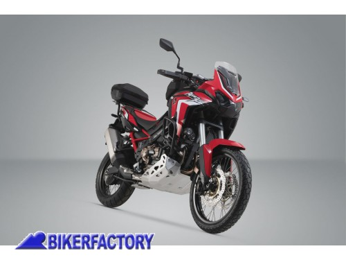 BikerFactory Kit portapacchi ADVENTURE RACK e bauletto URBAN ABS 16 29 lt SW Motech per HONDA CRF1100L Africa Twin GPT.01.950.60000 B 1044045