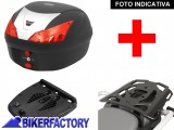 BikerFactory Kit portapacchi ALU RACK e bauletto T RaY 28 lt SW Motech x BMW F 650 CS Scarver TRY.07.375.100.01 B 1036641