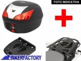 BikerFactory Kit portapacchi ALU RACK e bauletto T RaY 28 lt SW Motech x SUZUKI GSF 600 650 1200 1250 e GSX 650 1250 1400 TRY.05.299.15000.01 B 1034289