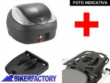 BikerFactory Kit portapacchi ALU RACK e bauletto T RaY 36 lt SW Motech x BMW R 1200 R TRY.07.612.100.02 B 1036686