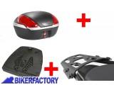 BikerFactory Kit portapacchi ALU RACK e bauletto T RaY 50 lt SW Motech x SUZUKI GSF 600 650 1200 1250 e GSX 650 1250 1400 TRY.05.299.15000.04 B 1034293