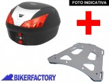 BikerFactory Kit portapacchi STEEL RACK e bauletto T RaY 28 lt SW Motech x BMW R 1150 GS Adventure TRY.07.726.20000.01 B 1033902
