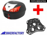 BikerFactory Kit portapacchi STEEL RACK e bauletto T RaY 28 lt SW Motech x KTM Adventure TRY.04.790.20002.01 B 1033856