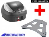 BikerFactory Kit portapacchi STEEL RACK e bauletto T RaY 36 lt SW Motech x BMW R 1150 GS Adventure TRY.07.726.20000.02 B 1033903