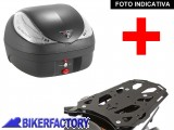 BikerFactory Kit portapacchi STEEL RACK e bauletto T RaY 36 lt SW Motech x BMW R 1200 GS Adventure TRY.07.685.20001.02 B 1033899