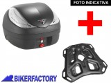 BikerFactory Kit portapacchi STEEL RACK e bauletto T RaY 36 lt SW Motech x KTM Adventure TRY.04.790.20002.02 B 1033857