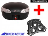 BikerFactory Kit portapacchi STEEL RACK e bauletto T RaY 48 lt SW Motech x KTM Adventure TRY.04.790.20002.03 B 1033858