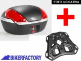 BikerFactory Kit portapacchi STEEL RACK e bauletto T RaY 50 lt SW Motech x KTM Adventure TRY.04.790.20002.04 B 1033859