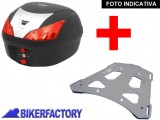 BikerFactory Kit portapacchi e Bauletto 28 lt. %281 casco%29 mod. SW Motech T RaY BASIC specifico x BMW F650GS F650GS Paris Dakar G650GS G650GS Sertao TRY.07.353.100.28 B 1004395