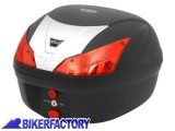 BikerFactory Kit portapacchi e Bauletto 28 lt. %281 casco%29 mod. SW Motech T RaY BASIC specifico x Honda FES 125 e Honda SH 125 150 300 TRaY0101 1003642