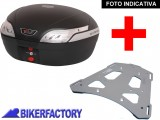 BikerFactory Kit portapacchi e Bauletto 48 lt. %282 caschi%29 mod. SW Motech T RaY L specifico x BMW F650GS F650GS Paris Dakar G650GS G650GS Sertao colore nero TRY.07.353.100.48 B 1004404