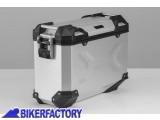 BikerFactory Borsa laterale moto in alluminio SW Motech TRAX Adventure 37 lt colore argento anodizzato lato SINISTRO ALK.00.733.11000L S 1031279