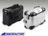 BikerFactory Borsa laterale moto in alluminio SW Motech TRAX Adventure 37 lt colore nero verniciata a polvere lato DESTRO ALK.00.733.11000R B 1031280