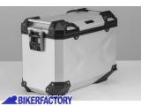 BikerFactory Borsa laterale moto in alluminio SW Motech TRAX Adventure 45 lt colore argento anodizzato lato SINISTRO ALK.00.733.10000L S 1031256