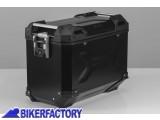 BikerFactory Borsa laterale moto in alluminio SW Motech TRAX Adventure 45 lt colore nero verniciata a polvere lato SINISTRO ALK.00.733.10000L B 1031254