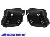BikerFactory Coppia borse %28dx %2B sx%29 in pelle nera mod. MILWAUKEE II PW.00.550 118 1027644
