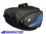 BikerFactory Coppia borse laterali a bisaccia per moto mod. OXFORD First Time Luggage 48 lt OXF.00.OL434 1031691