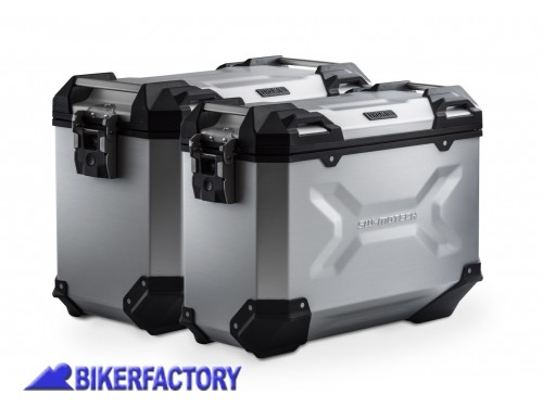 borse laterali moto alluminio