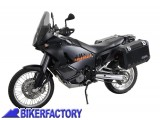 BikerFactory Kit Borse laterali in alluminio SW Motech TRAX EVO completo%2C specifico KTM LC8 Adventure 1003016