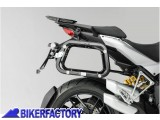 BikerFactory Kit Borse laterali in alluminio SW Motech TRAX EVO completo%2C specifico DUCATI 1200 Multistrada %28%2710 %2714%29. 1003650