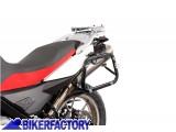 BikerFactory Kit Borse laterali in alluminio SW Motech TRAX EVO completo%2C specifico F650GS PD 1002998