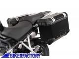 BikerFactory Kit Borse laterali in alluminio SW Motech TRAX EVO x TRIUMPH Tiger Explorer 1200 XC XR XRx XRt 1019819