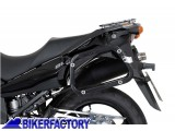 BikerFactory Kit Borse laterali in alluminio TRAX EVO completo%2C specifico Suzuki DL 650 V Strom 1003007