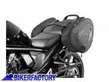 BikerFactory Kit completo borse laterali SW Motech Blaze H con telaietto a sgancio rapido X SUZUKI GSF 650 Bandit S e GSF 1250 Bandit BC.HTA.05.740.10300 B 1014429