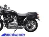 BikerFactory Kit completo borse laterali SW Motech Blaze H con telaietto a sgancio rapido X Triumph Thruxton 900 e Bonneville T100 SE %28%2704 in poi%29 art. BC.HTA.11.740.10500 B. BC.HTA.11.740.10500 B 1024061