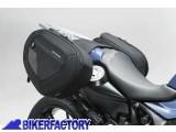 BikerFactory Kit completo borse laterali SW Motech Blaze H con telaietto a sgancio rapido per BMW F 800 R BC.HTA.07.740.10500 B 1033447