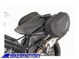 BikerFactory Kit completo borse laterali SW Motech Blaze H con telaietto a sgancio rapido per BMW F800R %28 %2709 in poi%29 F800GT %28%2713 in poi%29 BC.HTA.07.740.10200 B 1016190