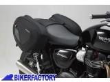 BikerFactory Kit completo borse laterali SW Motech Blaze H con telaietto a sgancio rapido x TRIUMPH Bonneville T 100 T120%2C Street Twin e Thruxton 900 1200 1200 R BC.HTA.11.740.10502 B 1033946