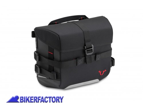 BikerFactory Borsa SW Motech SysBag 10 %2810 lt%29 colore nero antracite con cinghie incluse BC.SYS.00.001.10000 1038668