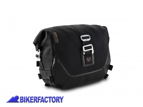 BikerFactory Borsa laterale destra SW Motech Legend Gear LC1 9%2C8 lt Black Edition per telaietti SLC BC.HTA.00.401.10200R 1038263