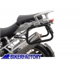 BikerFactory Kit Borse laterali in alluminio SW Motech TRAX EVO completo%2C specifico BMW R1200GS 1003001