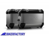 BikerFactory Kit Borse laterali in alluminio SW Motech TRAX EVO x BMW R 1200 GS LC Adventure LC 1024307