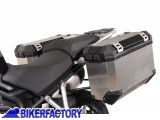 BikerFactory Kit Borse laterali in alluminio SW Motech TRAX EVO x KTM 1290 Super Duke GT 1034641