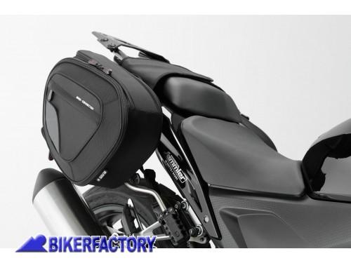 BikerFactory Kit borse laterali SW Motech Blaze x HONDA CB500 CB650F CBR500  CBR600R CBR600RR BC. b886f921932