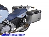BikerFactory Kit borse laterali in alluminio SW Motech TRAX ION completo x BMW F 650 CS Scarver 1003118