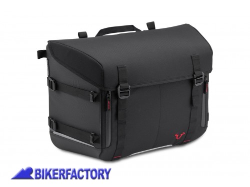 BikerFactory Borsa SW Motech SysBag 30 %2830 lt%29 colore nero antracite con cinghie incluse BC.SYS.00.003.10000 1038680