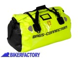 BikerFactory Borsa Posteriore impermeabile %28 rotolo %29 BAGS CONNECTION DRYBAG GIALLO NEON %2ASecurity Line%2A 60 Lt. 1012067