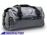BikerFactory Borsa Posteriore impermeabile SW Motech DRYBAG 350 35 lt. Grigio BC.WPB.00.001.10001 1024336