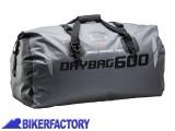BikerFactory Borsa Posteriore impermeabile SW Motech DRYBAG 600 60 lt. Grigio BC.WPB.00.002.10001 1024335