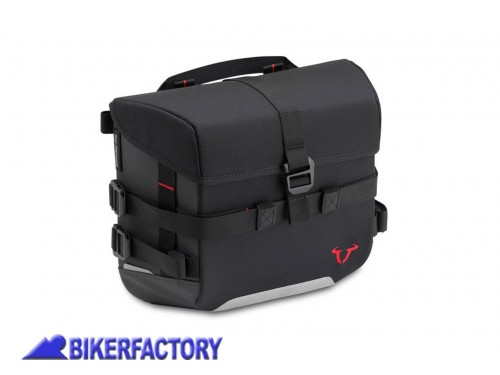 BikerFactory Borsa SW Motech SysBag 10 %2810 lt%29 colore nero antracite con cinghie incluse BC.SYS.00.001.10000 1038671