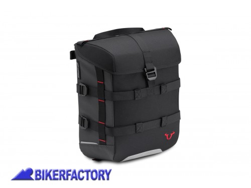 BikerFactory Borsa SW Motech SysBag 15 %2815 lt%29 colore nero antracite con cinghie incluse BC.SYS.00.002.10000 1038676