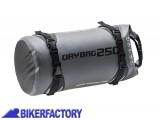 BikerFactory Borsa impermeabile a rotolo SW Motech DRYBAG 250 25 Lt. BC.WPB.00.008.10000 1027253
